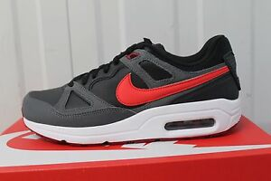 sports shoes 295f7 134ae Image is loading NIKE-AIRMAX-SPAN-MEN-S-TRAINER-BLACK-GREY-