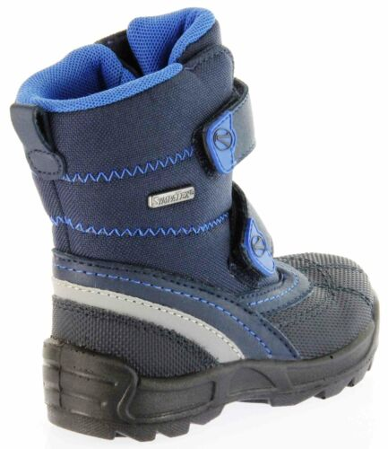 Richter Kinderstiefel Lauflerner Warm blau TEX Jungen 2053-831-7203 Freestyle