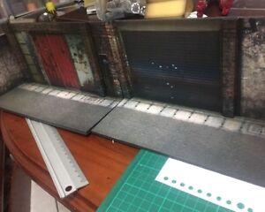 """Discret Aw 01 1/18 : Figlot 1/18 Echelle Paper-craft Diorama Rue Allée Pour 3.75 """" Pour Classer En Premier Parmi Les Produits Similaires"""