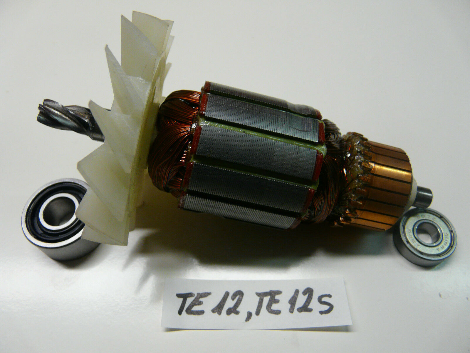 Anker, Rotor für Hilti TE 12, TE 12 S mit beiden  Lagern