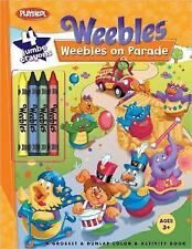 Weebles: Weebles on Parade: Coloring Book with Thick Crayons, Lisa  Gribbin, Meg