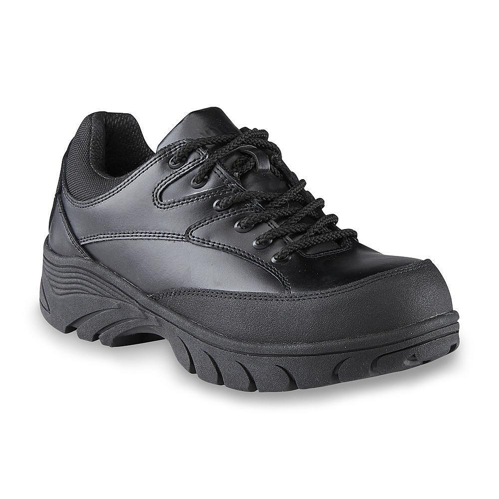 Roebucks Men's Drake Composite Toe Black Work shoes 82374