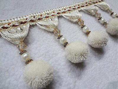 Tassel Fringe Upholstery Curtain Trim Costume/Craft/Crafting Sewing/ Wedding 1M