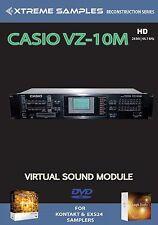 Xtreme Samples Casio VZ-10M HD Virtual Sound Module Logic EXS24 | NI Kontakt