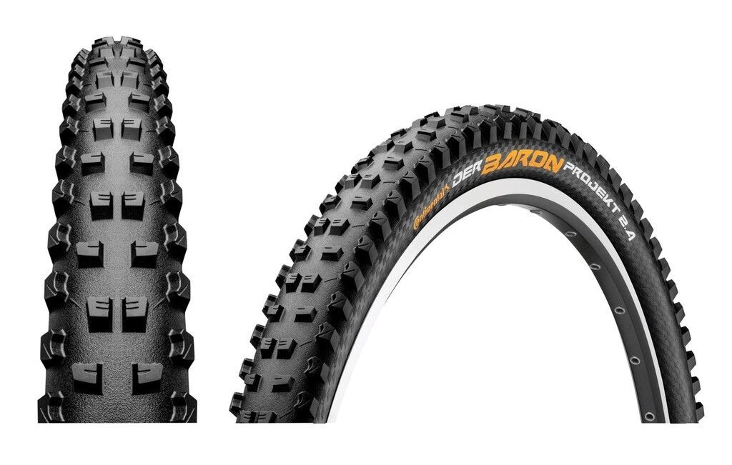 Continental Bike Tyre Der Baron Project 2.4 Pred. Apex all Sizes