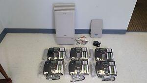Nortel-Norstar-MICS-Phone-System-6-T7316-phones-Caller-ID-CallPilot-100-VM