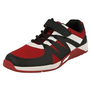 Trainers' Machine 'Red 'Clarks Washable Boys Step trace qWwfxBnvt