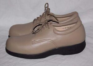 ffbff2e731 Apex Ambulator Women's Shoes 10.5M B2400W TAN Diabetic Orthopedic ...