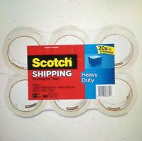 Scotch 3m Heavy Duty Box Sealing Shipping Packing Tape 20x Stronger