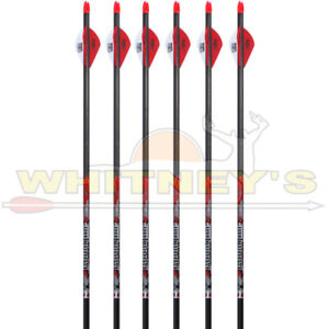 Victory Archery V-Force 400 Sport Arrows for Hunting//Target Bow 6 Pack