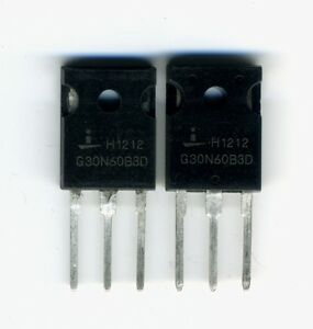 2 X Transistors 30n60 Igbt Haute Puissance 600 V- 50 A Yuuzaivy-07161639-464513171