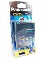 Genuine Panasonic Cgr-d53 A/1k Battery Pack For Mini-dv Camcorder P212