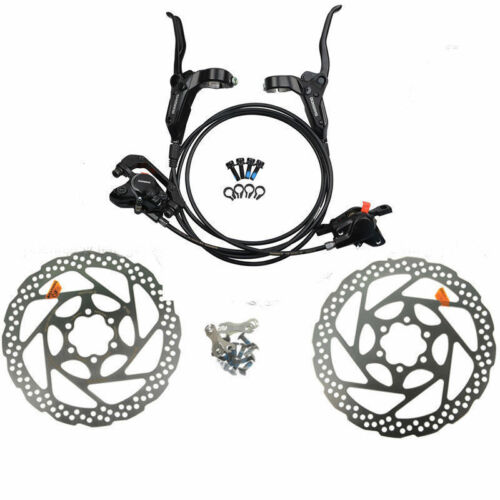 Shimano MTB BR BL M315 Hydraulic Disc Brake Set Pre-Filled with 160mm Rotors