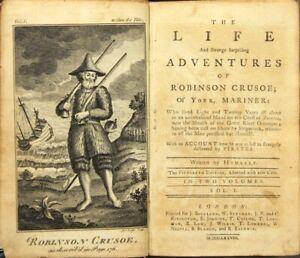 Antyki i Sztuka ROBINSON CRUSOE ~ The Life and Strange Surprizing Adventures of Robinson...