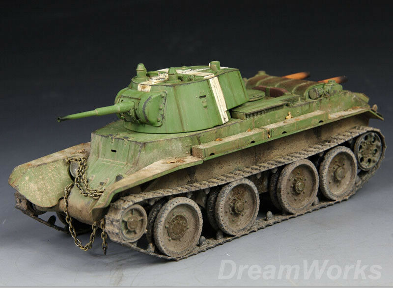 Award Winner Built TAMIYA 1 35 Soviet BT-7  Betka  Cavalry Tank +PE