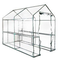 Walk In Greenhouse With Transparent Pvc Cover - 1.9m X 1.2m