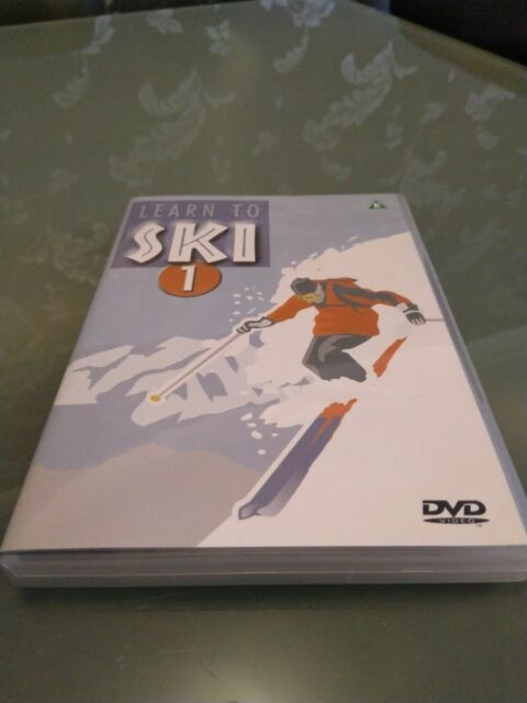 Learn To Ski 1 Instructional DVD Introductory Beginners Level Free Postage