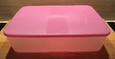 Tupperware A 150 Quadro 500 ml Zauberhafte Eulen Pink Rosa Dose Deckel Neu OVP