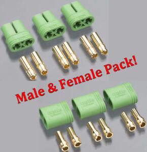 Castle-Creations-4mm-Polarized-Bullet-Connector-Male-amp-Female-Set