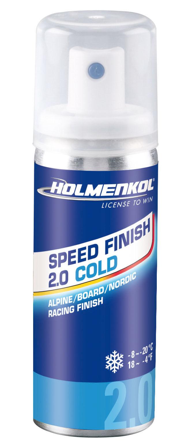 Holmenkol Racing Finish Finish Racing Spray SpeedFinish 2.0 COLD 50ml a654d6