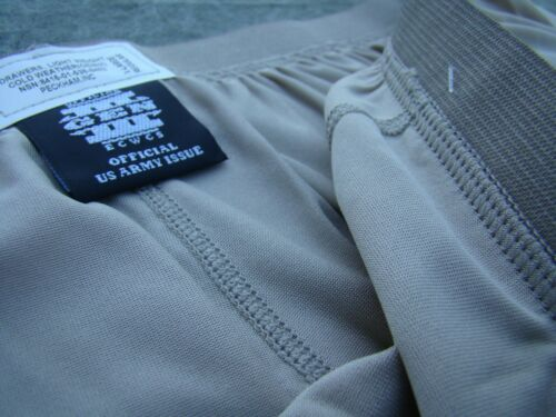 New Polartec silkweight XL//L bottom long underwear Extra Large Long Desert Sand