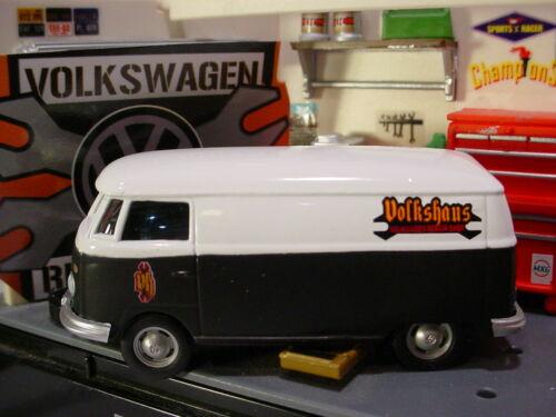 Greenlight VOLKSWAGEN Repair Shop VW PANEL VAN✰white//black bus;rubber tire✰loose