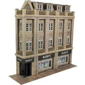 Metcalfe PO279 00/H0 Low Relief Department Store OO Gauge Model Railway 5060157222798