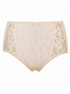 444206d2b B.New Ex Marks   Spencer Jacquard Lace High Rise Full Briefs Sizes 8 ...