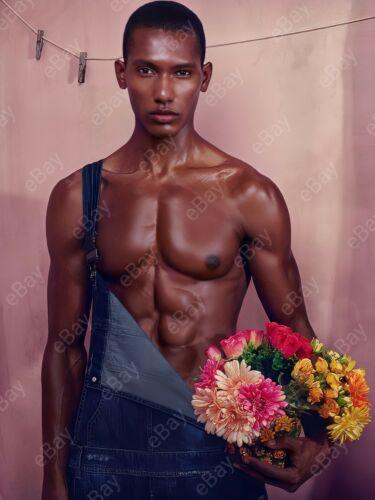 Portrait Foto afrikanischer Junge Fotoreproduktion Guy Boy Porträt Gay int