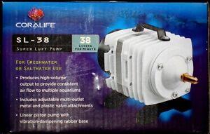 Coralife Super Luft High Pressure Air Pump  Model  # SL 38