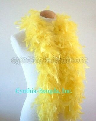 "45g 52""long Chandelle Feather Boa, Solid Colors  20+ Colors to Pick up From, NEW"
