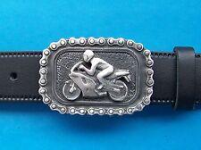 Belt Buckle Motorcycle Mens Metal Biker Bike 3d Gothic Motorcycles FREE UK POST