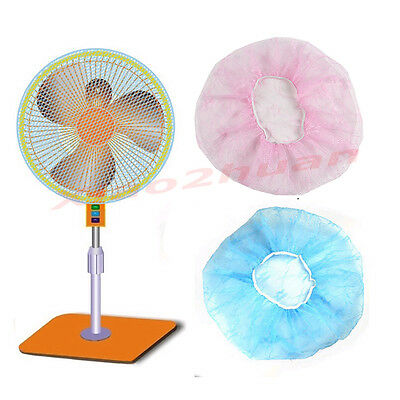 Child Safety Nylon Washable Dustproof Rope Home Fan Protection Cover