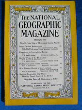 National Geographic Magazine March  1953 Vintage Ads Car Truck Advertising