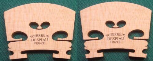 2  Stege für Geige 4//4 recht gut abgelagertes Holz Superieur Despiau France