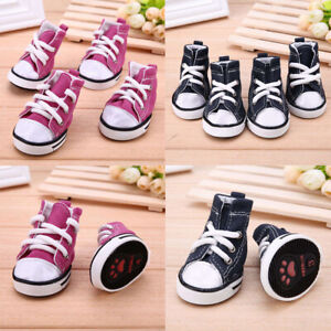 USA-Hot-Pet-Dog-Boots-Puppy-Denim-Sports-Anti-slip-Shoes-Sneakers-For-Small-Dogs