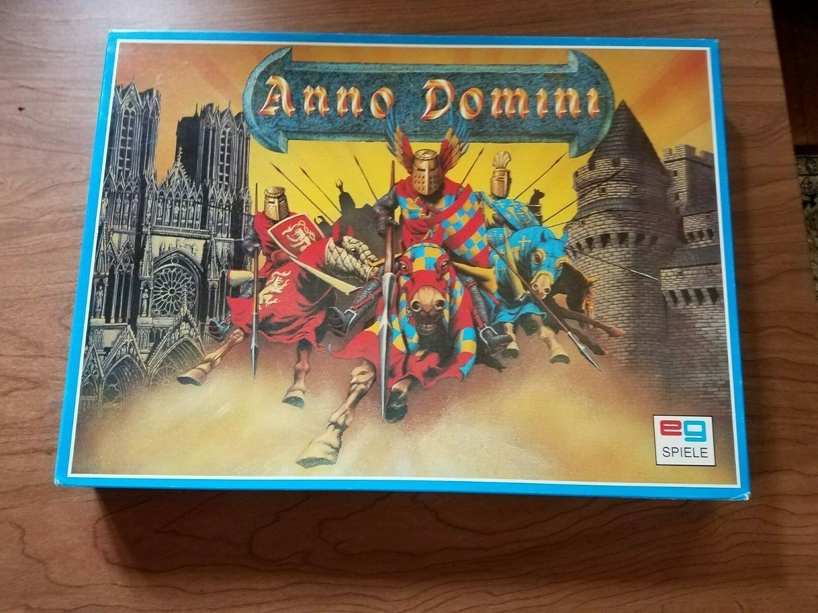 EG Spiele  Board Game - ANNO DOMINI unpunched w  English Rules