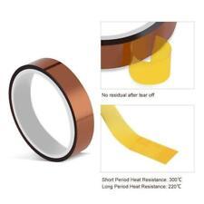 2 Rolls Tape High Temperature Heat Resistant Tape Sublimation Heat Press Premium