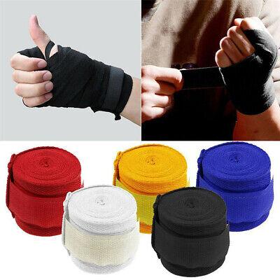 2.5mx5cm Boxing Sports Cotton Strap Bandage Cover Taekwondo Hand Glove Wrap Band