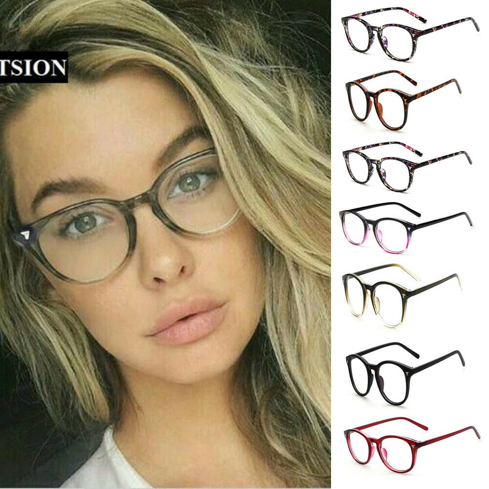 4d5fa8c668 Retro Men s Women Square Eyeglass Frames Clear Lens Glasses Optical ...