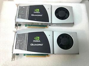 LOT-2-NVIDIA-Quadro-FX-4800-Graphics-Card-P607-PNY-VCQFX4800-PCIE-T-used