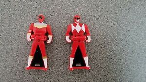 Mighty Morphin Power Rangers Super Megaforce Red Key Bandai 2013 Zeo 5 V lot