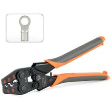 Non-Insulated Wire Terminals Plier Crimper 4-6,6-10,10-16mm2 AWG 12-6