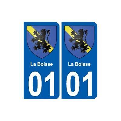 01 La Boisse Ville Autocollant Plaque Sticker