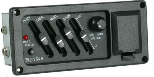 Great low cost system from Hobgoblin Music Belcat EQ-7545 GUITAR PICKUP with EQ