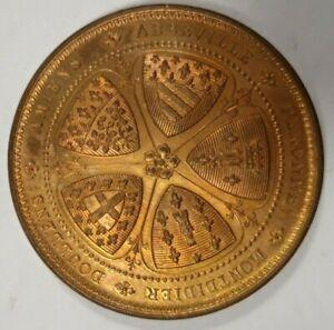 Médaille de la Société Industrielle d'Amiens attribuée en 1904