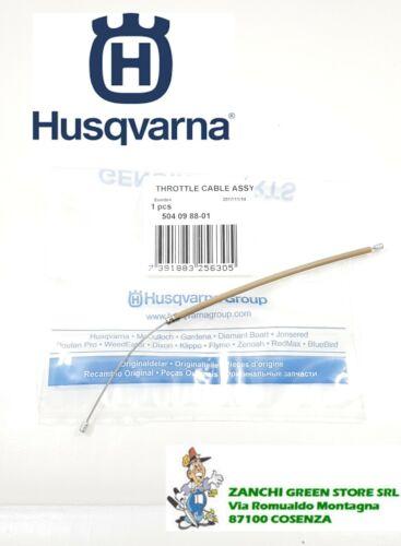 CAVO GAS HUSQVARNA 445//450 COD 504098801