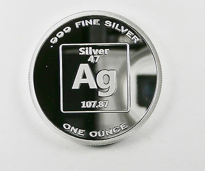 PURE SILVER 1 OUNCE PROOF 99.99 FINE BENCHMARK 1 OUNCE PROOF ELEMENT DESIGN F3
