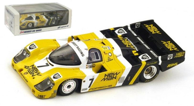 Spark 43LM85 Porsche 956 'New Man' Le Mans Winner 1985 - 1 43 Scale