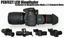 GGS DSLR 3x LCD Viewfinder Loupe for Canon 5D MKII 7D Panasonic nikon pentax